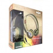 The House of Marley Haramble On-Ear Headphones - слушалки за iPhone, iPod и устройства с 3.5 мм изход (зелен) 5