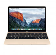 Apple MacBook 12, Dual-Core M3 1.2GHz, 8GB, 256GB SSD, Intel HD Graphics 615 (златист) (модел 2017)
