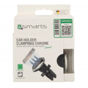 4smarts Ultimag Magnetic Vent Car Holder Clampmag (chrome) 3
