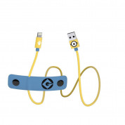 USB Tribe Minions Carl Lightning Cable - сертифициран Lightning кабел за iPhone, iPad и iPod с Lightning  (120 см)  1
