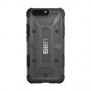 Urban Armor Gear Plasma - удароустойчив хибриден кейс за Huawei P10 Plus (черен-прозрачен) 1