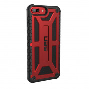 Urban Armor Gear Monarch Platinum - удароустойчив хибриден кейс за iPhone 8 Plus, iPhone 7 Plus, iPhone 6S Plus, iPhone 6 Plus (червен-черен) 2