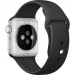 Apple Sport Band S/M & M/L - оригинална силиконова каишка за Apple Watch 38мм, 40мм (черен) (retail) 6