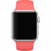 Apple Sport Band S/M & M/L - оригинална силиконова каишка за Apple Watch 38мм, 40мм (розов) (retail) 5