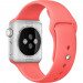 Apple Sport Band S/M & M/L - оригинална силиконова каишка за Apple Watch 38мм, 40мм (розов) (retail) 3