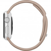 Apple Sport Band S/M & M/L - оригинална силиконова каишка за Apple Watch 38мм, 40мм (кафяв) (retail) 4