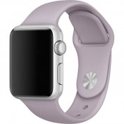 Apple Sport Band S/M & M/L - оригинална силиконова каишка за Apple Watch 38мм, 40мм (лавандула) (retail)