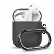 Elago Airpods Silicone Hang Case (dark grey)
