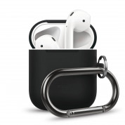 Elago Airpods Silicone Hang Case (black)