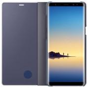 Samsung Clear View Stand Cover EF-ZN950CV - оригинален кейс с поставка, през който виждате информация от дисплея за Samsung Galaxy Note 8 (сив) 2