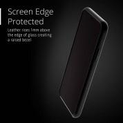 Mujjo Leather Wallet Case - кожен (естествена кожа) кейс с джоб за кредитна карта за iPhone XS, iPhone X (черен) 6