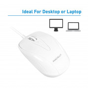 Macally TurboC Mouse - USB-C оптична мишка за PC и Mac 1
