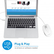 Macally TurboC Mouse - USB-C оптична мишка за PC и Mac 4