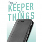 Silk Innovation Folio Wallet Leather Case for iPhone 8, iPhone 7 6