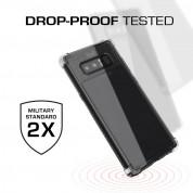 Ghostek Covert 2 Case  - хибриден удароустойчив кейс за Samsung Galaxy Note 8 (прозрачен-бял) 2