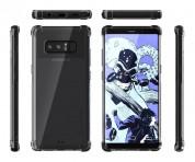 Ghostek Covert 2 Case  - хибриден удароустойчив кейс за Samsung Galaxy Note 8 (прозрачен-черен) 4