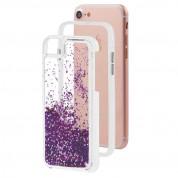 CaseMate Waterfall Case - дизайнерски кейс с висока защита за iPhone 8, iPhone 7, iPhone 6S, iPhone 6 (лилав) 4
