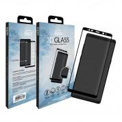 Eiger 3D Glass Edge to Edge Curved Tempered Glass - калено стъклено защитно покритие с извити ръбове за целия дисплея на Samsung Galaxy Note 8 (черен-прозрачен) 6