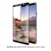 Eiger 3D Glass Case Friendly Curved Tempered Glass for Samsung Galaxy Note 8 (black-clear) 4