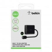 Belkin USB-C to VGA Adapter - адаптер за свързване от USB-C към VGA 3