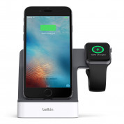 Belkin PowerHouse Charge Dock for Apple Watch and iPhone (white) 1