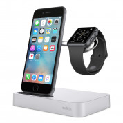Belkin Valet Charge Dock - сертифицирана докинг станция за зареждане на iPhone и Apple Watch (сребрист) 6
