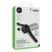 Belkin Valet Charger Power Pack 6700 mAh for Apple Watch+iPhone (silver) 6