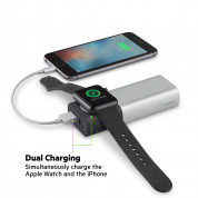 Belkin Valet Charger Power Pack 6700 mAh for Apple Watch+iPhone (silver) 5