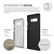 Elago Origin Case - тънък полипропиленов кейс (0.3 mm) за Samsung Galaxy Note 8 (черен) 3