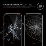Elago Tempered Glass - калено стъклено защитно покритие за дисплея на iPhone 11 Pro, iPhone XS, iPhone X (прозрачен) 5