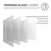 Elago Tempered Glass - два броя калено стъклено защитно покритие за дисплея на iPhone 11 Pro, iPhone XS, iPhone X (прозрачен) (2 броя) 2