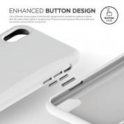 Elago S8 Cushion Case - удароустойчив TPU (термополиуретанов) калъф за iPhone XS, iPhone X (бял) 3