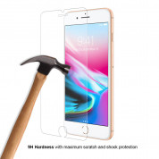 Eiger Tempered Glass Protector 2.5D for iPhone 8 Plus, iPhone 7 Plus 9