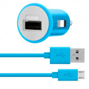 Belkin microUSB Car Charger 2.1А (blue)