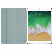 Macally Stand Case - полиуретанов калъф и поставка за iPad Air 3 (2019), iPad Pro 10.5 (черен) 8