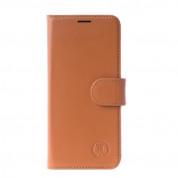 JT Berlin LeatherBook Kreuzberg Case - хоризонтален кожен (естествена кожа) калъф тип портфейл за Samsung Galaxy Note 8 (кафяв) 2