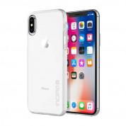 Incipio NGP Pure Case - удароустойчив силиконов (TPU) калъф за iPhone XS, iPhone X (прозрачен) 4