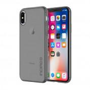 Incipio NGP Pure Case - удароустойчив силиконов (TPU) калъф за iPhone XS, iPhone X (черен-прозрачен)