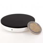 Zens Single Wireless Charger Round - док станция за безжично зареждане на Qi съвместими устройства 5