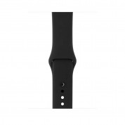 Apple Watch Series 3, 38mm Space Gray Aluminum Case with Black Sport Band - умен часовник от Apple 2