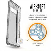 Urban Armor Gear Plyo Case - удароустойчив хибриден кейс за Samsung Galaxy Note 8 (прозрачен) 1