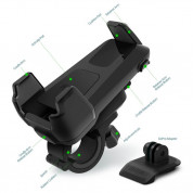 iOttie Active Edge Bike and Bar Mount with GoPro Adapter - Black 3