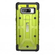 Urban Armor Gear Plasma - удароустойчив хибриден кейс за Samsung Galaxy Note 8 (лайм) 1