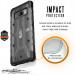 Urban Armor Gear Plasma - удароустойчив хибриден кейс за Samsung Galaxy Note 8 (черен-прозрачен) 3