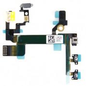 OEM Flex Cable - резервен лентов кабел с бутони за Power On/Off, вибрация и регулиране на звука за iPhone 5S