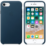 Apple iPhone Leather Case for iPhone 8, iPhone 7 (cosmos blue) 2
