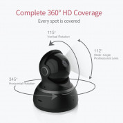 YI Dome Home Camera - домашна камера 1080p Dome Home (черен) 3