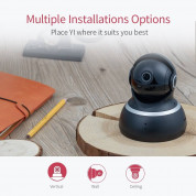 YI Dome Home Camera - домашна камера 1080p Dome Home (черен) 7