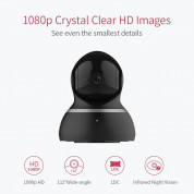 YI Dome Home Camera - домашна камера 1080p Dome Home (черен) 2