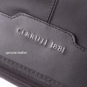 Cerruti 1881 Messenger Bag - луксозна дизайнерска чанта с презрамка за преносими компютри до 15 инча (черна) 2